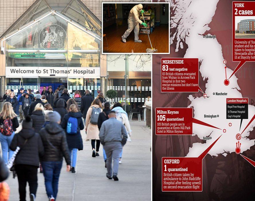 First coronavirus case confirmed in London