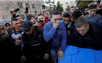 Israeli troops kill Palestinian in West Bank protest: medics