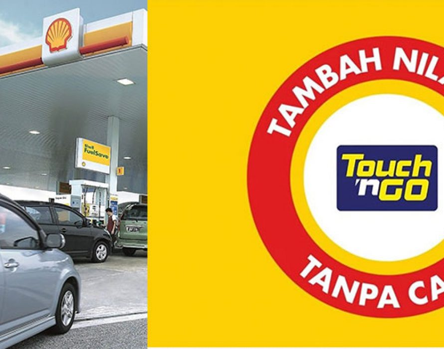Touch 'n' Go top-up charges waived at Shell stations along PLUS, LPT