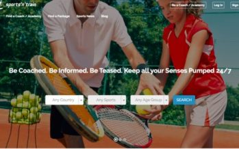 Sports'n'train New Website Launches