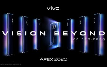Vivo's APEX 2020 Reveals Futuristic Vision Beyond Imagination