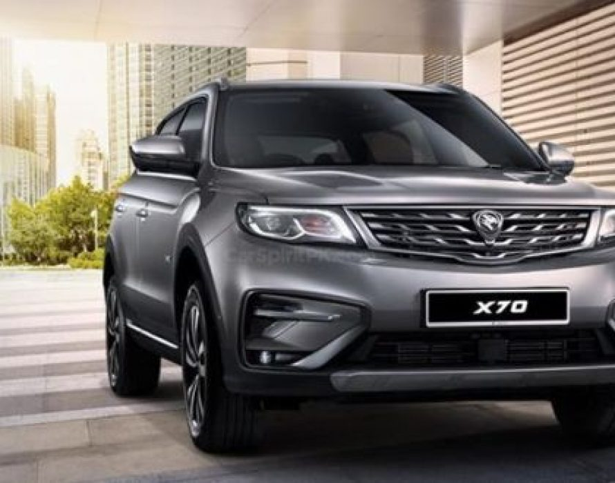 Proton unveils X70 CKD with 5 upgrades