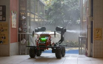 XAG Robot Joins Drone Fleet to Initiate Ground Air Disinfection in Coronavirus Battle
