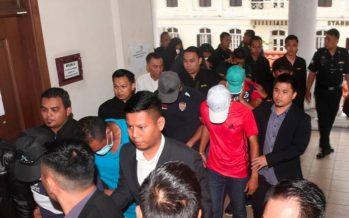 12 police personnel remanded for seven days