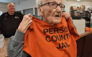 North Carolina woman spends 100th birthday in jail. Here's why