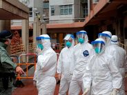 China sees drop in new coronavirus cases; none in Hubei for sixth day