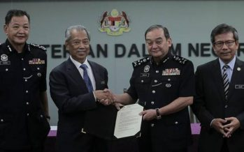 PDRM congratulates Muhyiddin on appointment as 8th Prime Minister