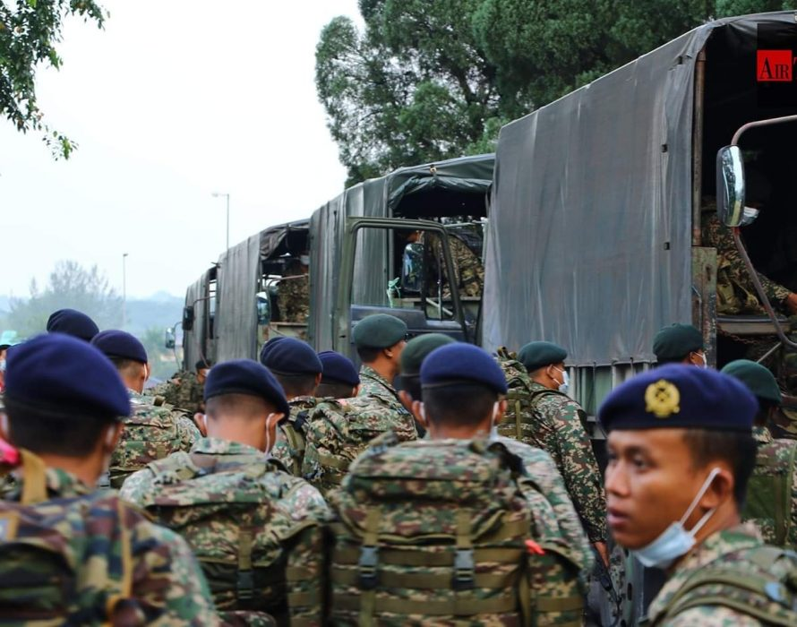 MAF deploys 7,500 personnel daily to assist police enforce order