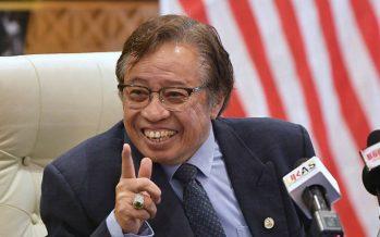 Abang Johari denies meeting PM over Cabinet posts
