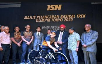 Special track bicycle to realise first Olympic gold dream