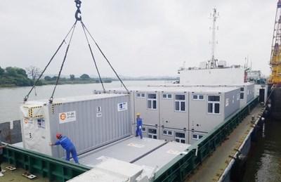 The modules were sent to Hong Kong