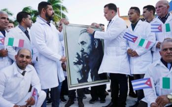 Cuban doctors head to Italy to fight coronavirus battle