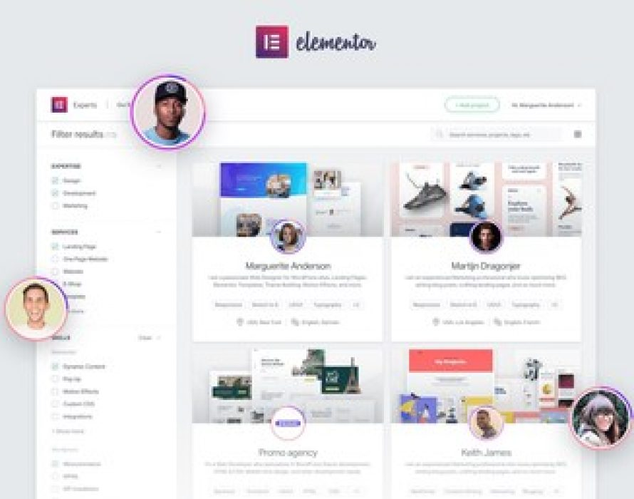 Elementor Expedites the Launch of 'Experts' Network for Professional Web Creators to Bolster Their Online Business in the Face of the Coronavirus Crisis