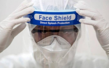 COVID-19: Several quarters make own face shield for medical workers