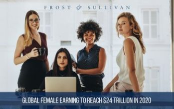 Global Female Income to Reach $24 Trillion in 2020, says Frost & Sullivan