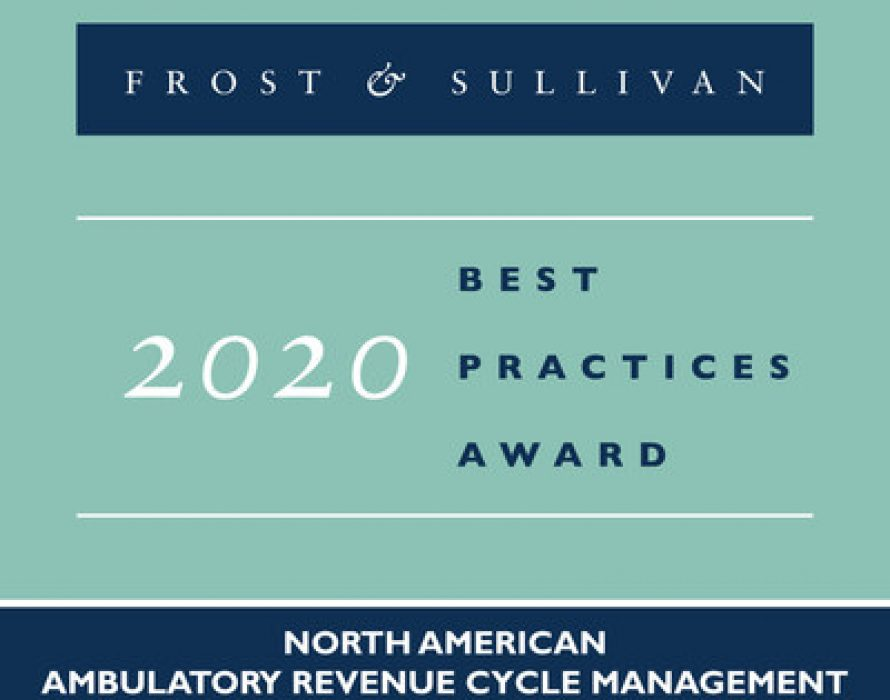 Greenway Health Applauded by Frost & Sullivan for Helping Customers Improve their Key Performance Areas with its Uniquely Agile RCM Offerings