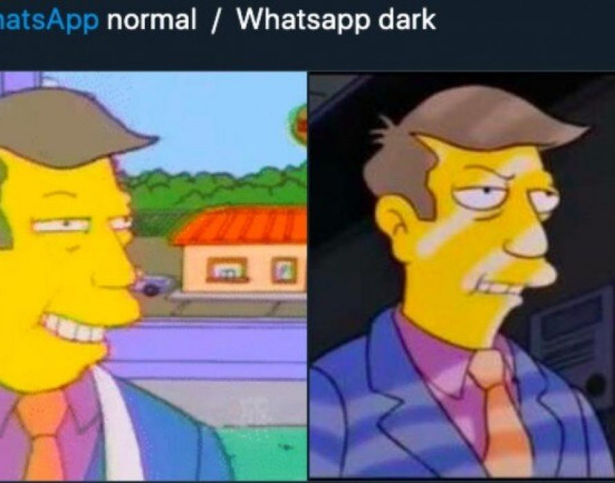 WhatsApp dark mode a hit,  gets best memes online
