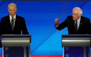 Biden, Sanders' disagree with Trump handle COVID-19