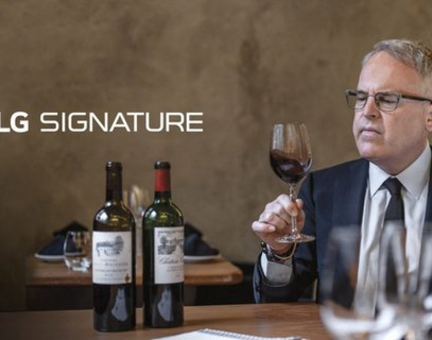 LG SIGNATURE Partners With Internationally Acclaimed Wine Critic James Suckling