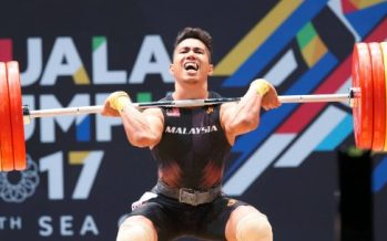 Weightlifter Aznil faces tough route to Tokyo 2020