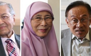 After weeks of political storm, life goes on for former leaders