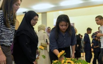 Sunflowers a sombre symbol of remembrance for families of MH17 victims