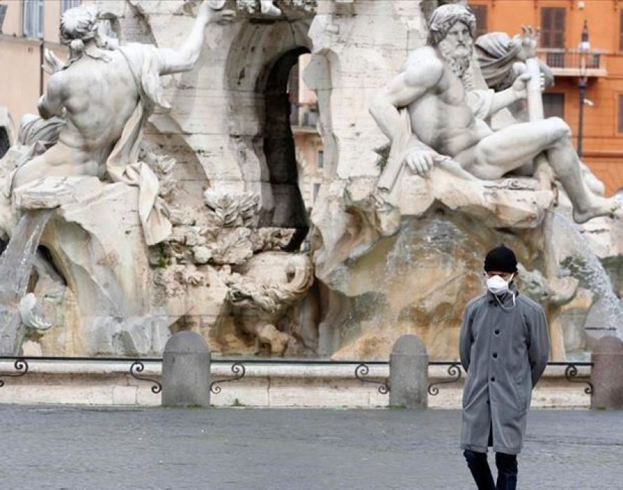 Italy coronavirus deaths rise by 889 in a day to 10,023