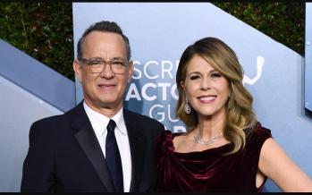Actor Tom Hanks, wife Rita Wilson down with coronavirus