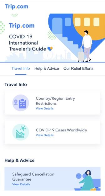 The all-new Trip.com COVID-19 International Traveler's Guide
