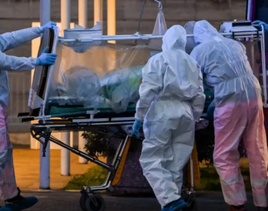 U.S. virus cases exceed 100,000: Doctors decry scarcity of drugs and equipment