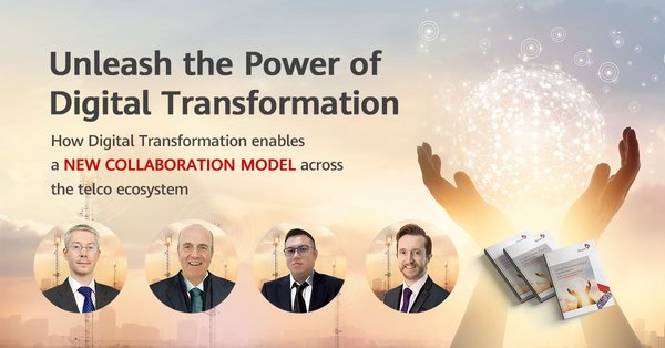 Unleash the Power of Digital Transformation Webinar organized by TM Forum, Omdia and Huawei