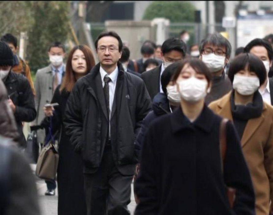Japan's total coronavirus cases top 100,000