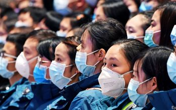 China logs fewer coronavirus infections but limits some movement