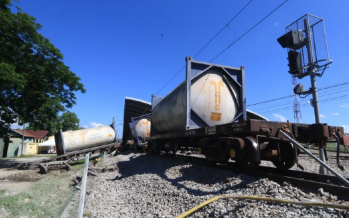 Freight train derailed at Tanjung Malim station, no casualty
