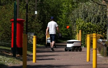 Coronavirus lockdown: Shopping robots deliver free groceries to NHS workers