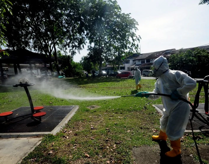 MBSA follows SOP in conducting disinfection operation