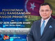 COVID-19: Selangor announce allocation of RM272 million