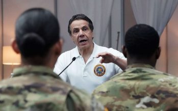 New York Governor says coronavirus crisis may have hit plateau
