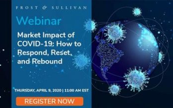 Frost & Sullivan Experts Present the Market Impact of COVID-19: How to Respond, Reset, and Rebound