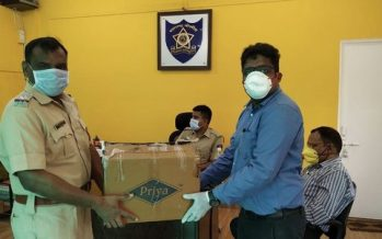 Hengtong India donates masks and hand sanitisers to communities in Khed City