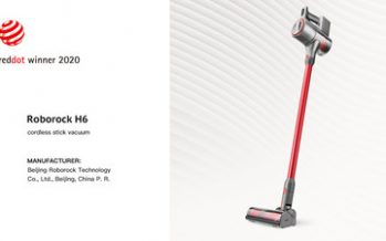 Roborock H6 Receives Red Dot 2020 Award for Product Design