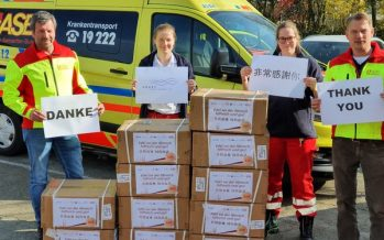 """""""Share the Weal and Woe Together in the Same Boat"""" Fosun, Taikang, together with other Benevolent Enterprises Donate Medical Supplies to Germany"""