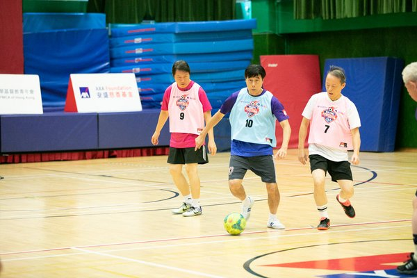 AXA Foundation and Chinese YMCA of Hong Kong have been joining hands to promote Walking Football since 2018. With the support of the AXA Foundation, the programme has hosted more than 195 games and benefited over 3,000 people in the past two years.