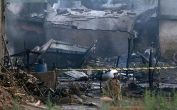 Pakistani airliner crashes in Karachi, many feared dead