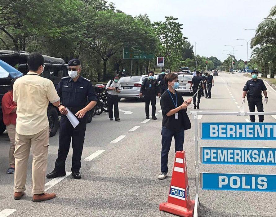 Pahang police end inter-district roadblocks