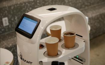 South Korean cafe follows social distancing by hiring robot barista
