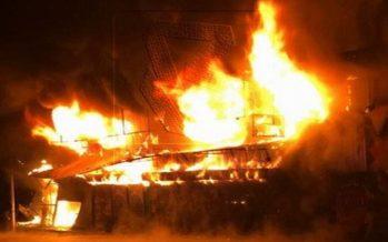 Man found burned in house fire in Kampar
