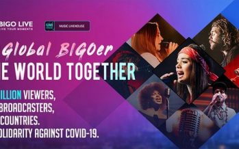 Bigo Live 'Global BIGOer One World Together' brings together 3.7million people from 150 countries to raise funds for WHO Solidarity Response Fund
