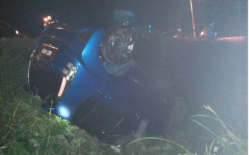 Car plunges into drain in Parit, Perak, baby dies