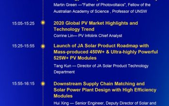 JA Solar to Host Webinar on May 18 with Top Photovoltaic Experts